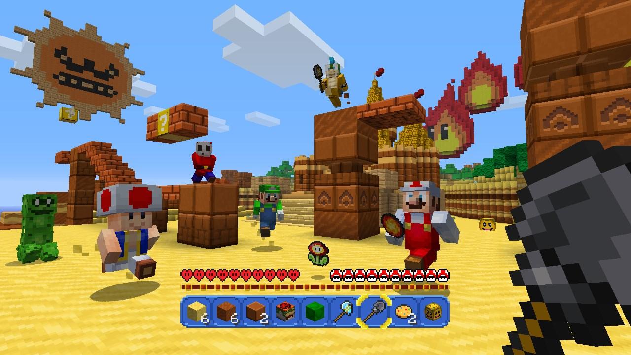 Xbox Boss Shares Positive Words For Minecraft Wii U Partnership With - Maps fur minecraft wii u