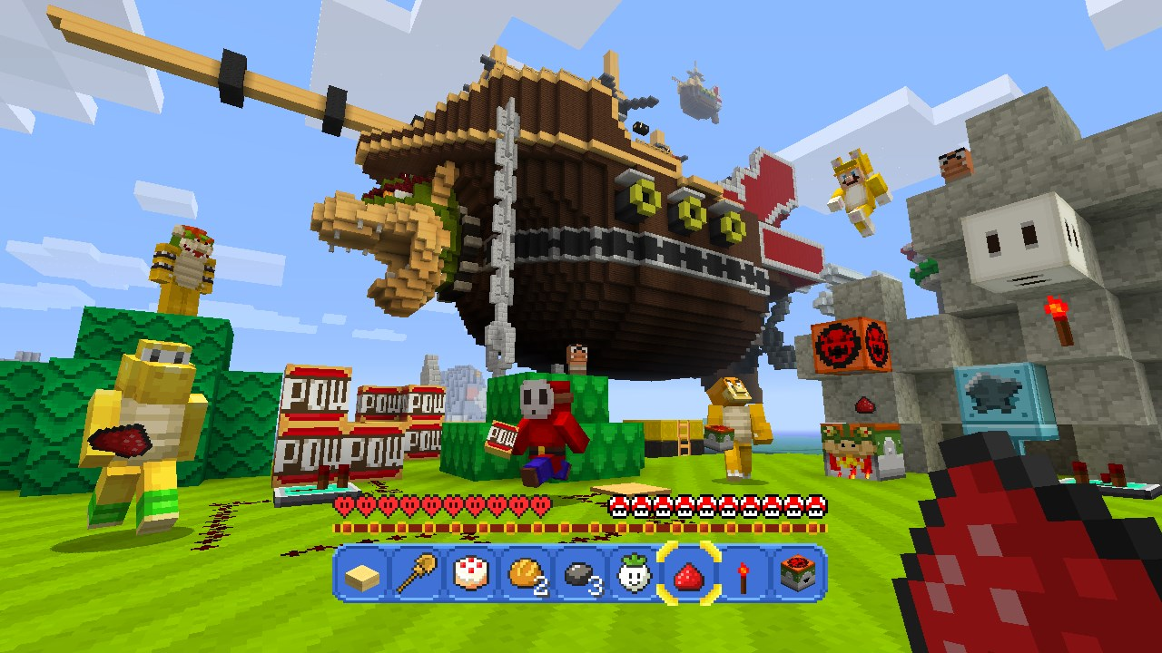 Minecraft Dev Looking Into Youtube Copyright Strike Issues With The 3 Way Switch Posted On May 19 2016 By Brianne Brian In News Wii U