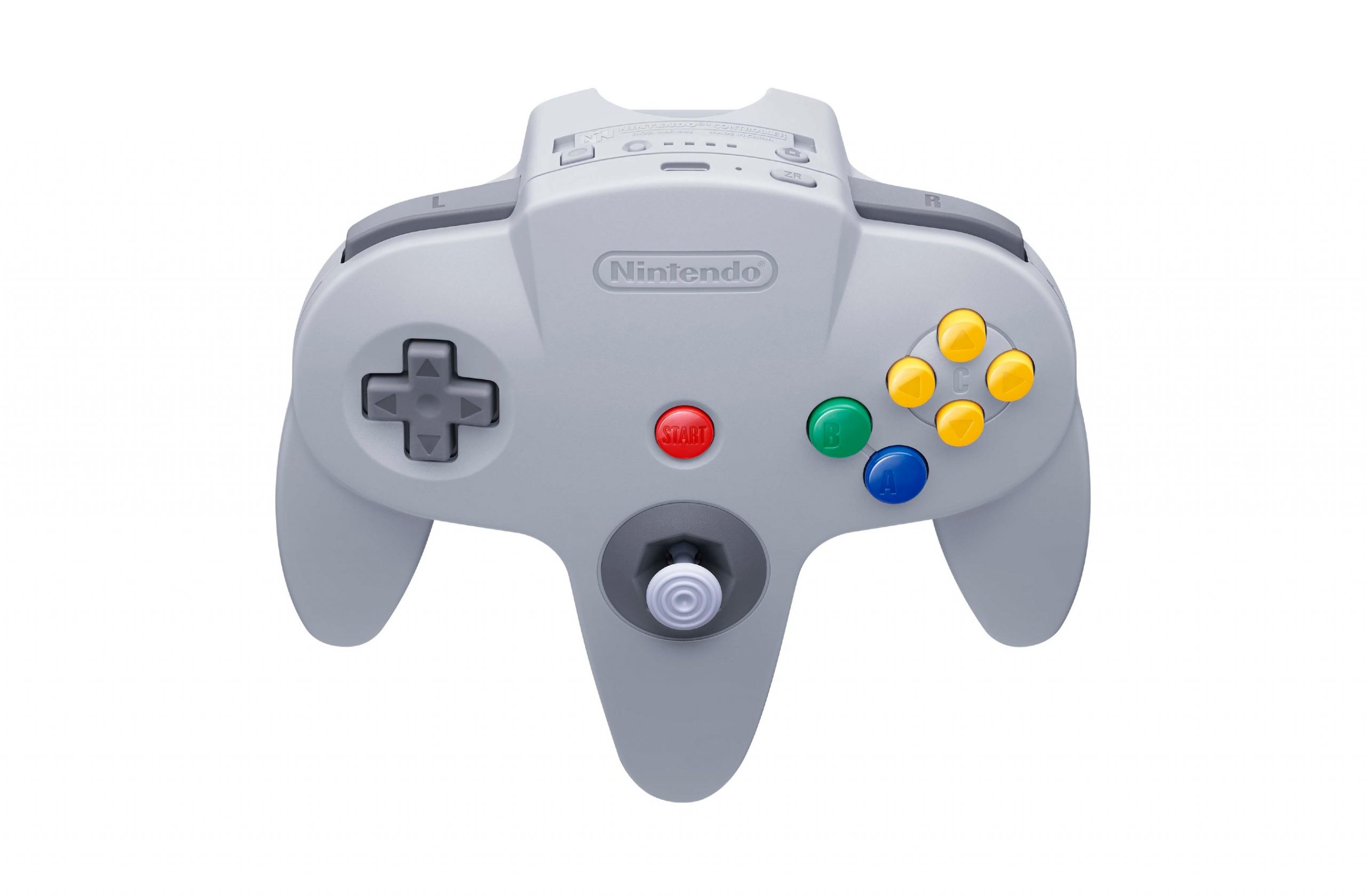 Photos of the N64 and SEGA Genesis Nintendo Switch Online controllers