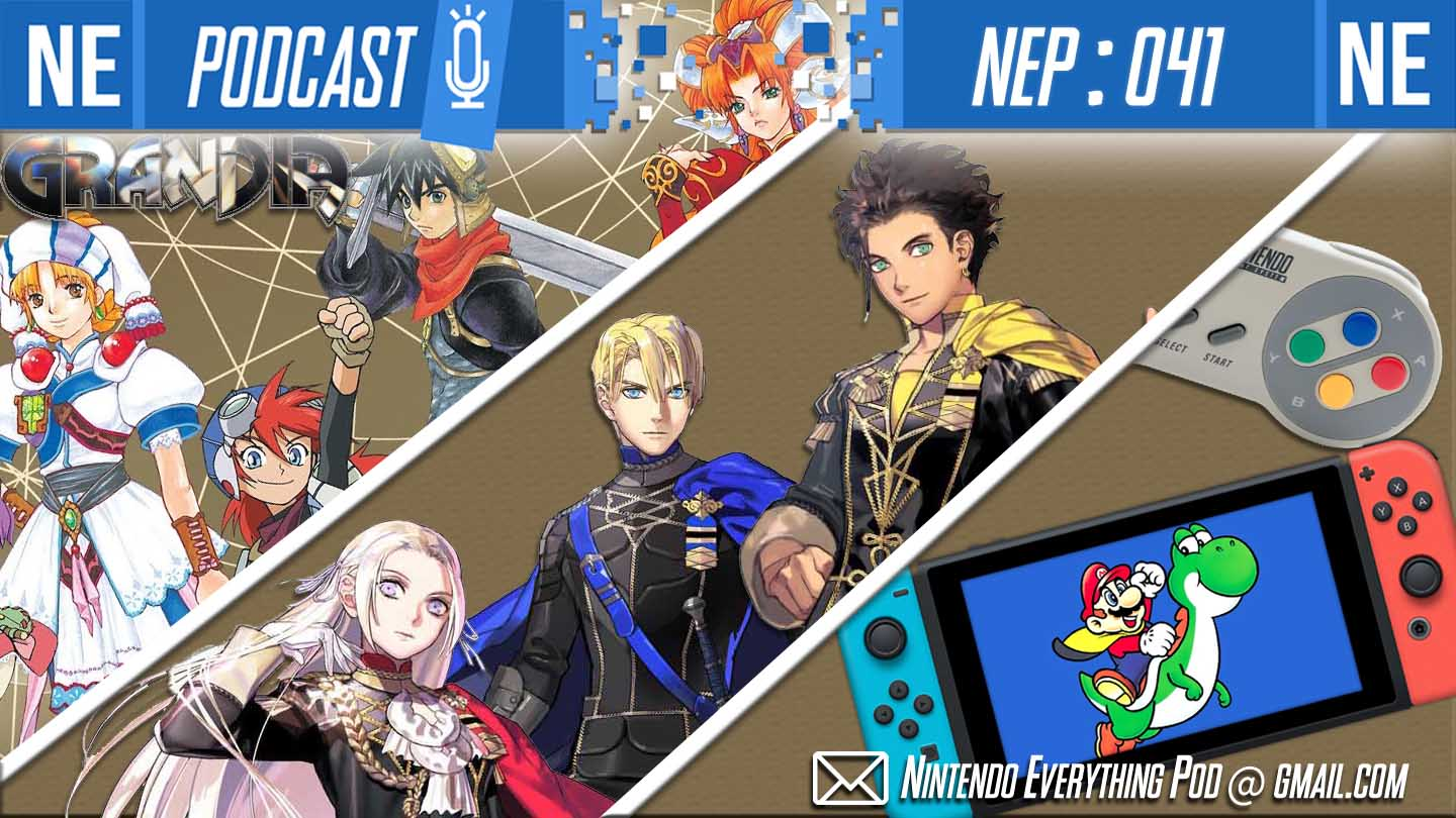 [Nintendo Everything Podcast] – episode #42 – Tetsuya Nomura is a bad character designer – Shots Firaga!