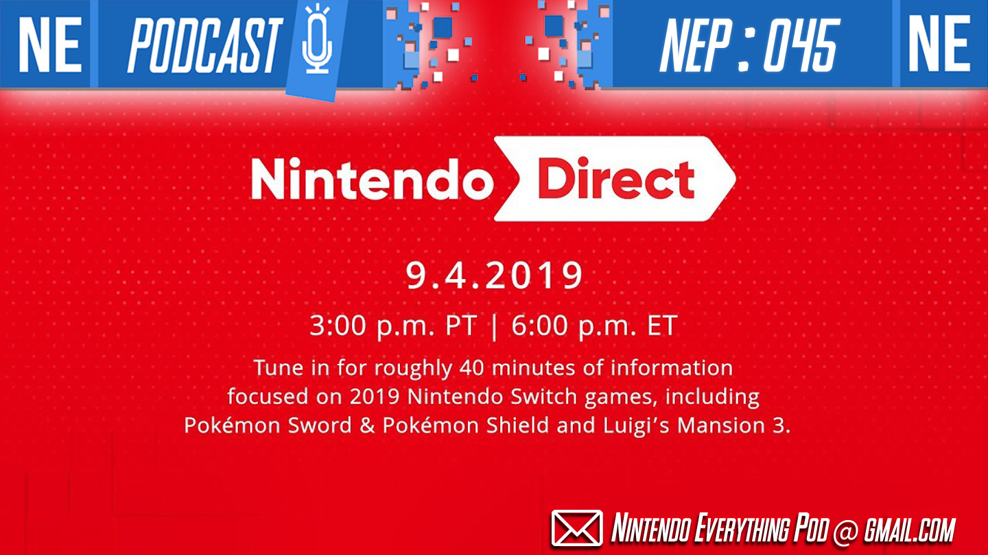 [Nintendo Everything Podcast] – episode #45 – Nintendo Direct: Terry Bogard, Animal Crossing: Castaway