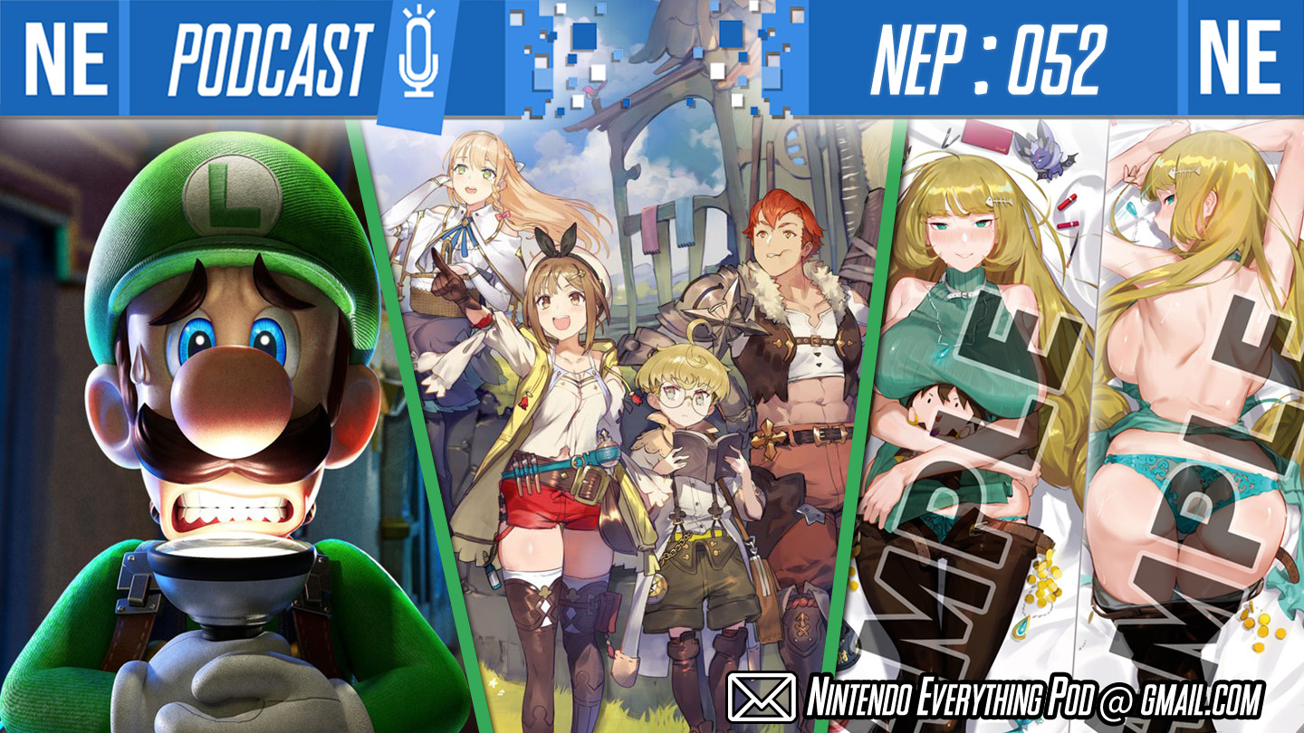 [Nintendo Everything Podcast] – episode #52 – Body pillows are not a anime, Pokemon evolution leaks