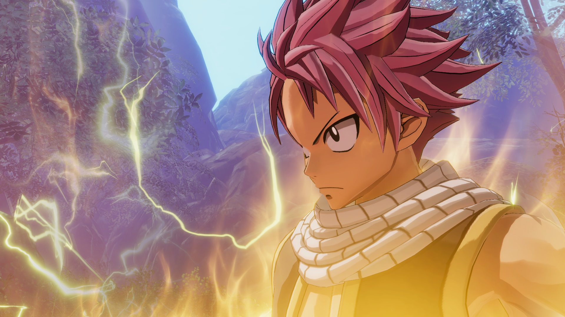 New Fairy Tail battle animations footage