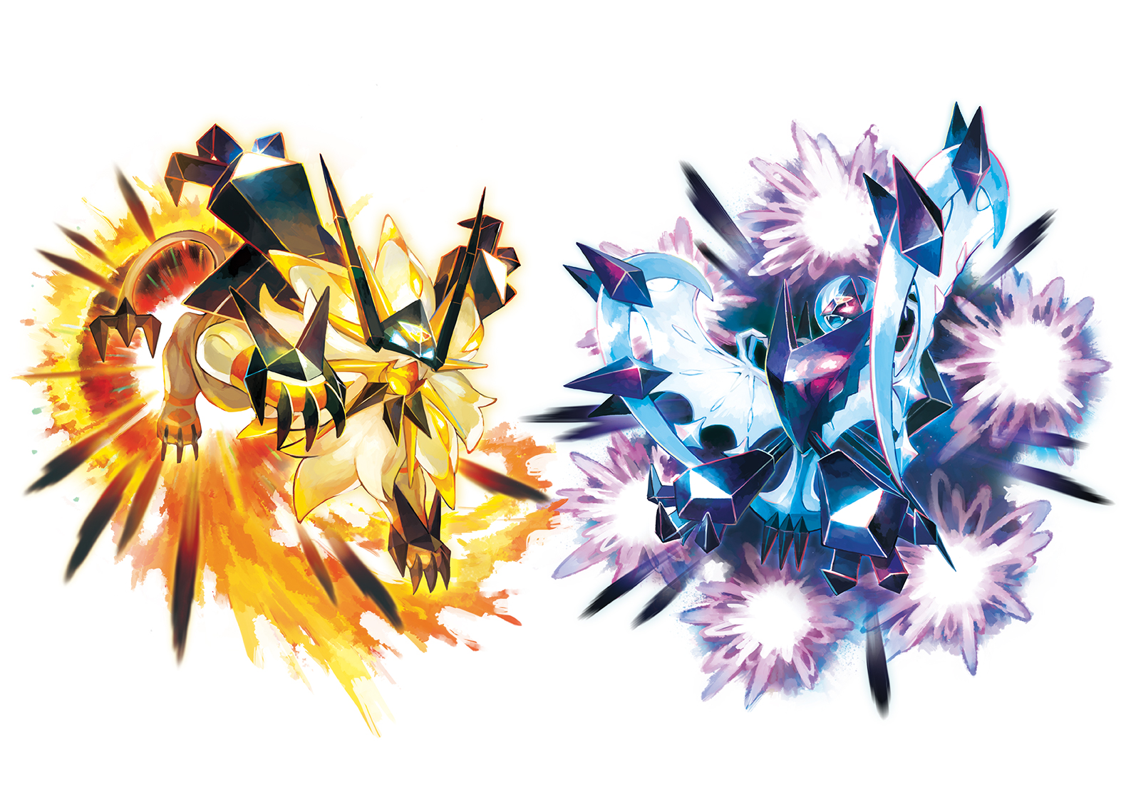 pokemon ultra sun ultra moon details necrozma z moves new rotom dex features nintendo. Black Bedroom Furniture Sets. Home Design Ideas