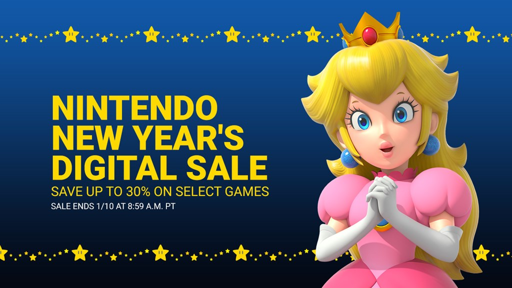 Nintendo Announces New Year S Eshop Sale For North America Nintendo Everything