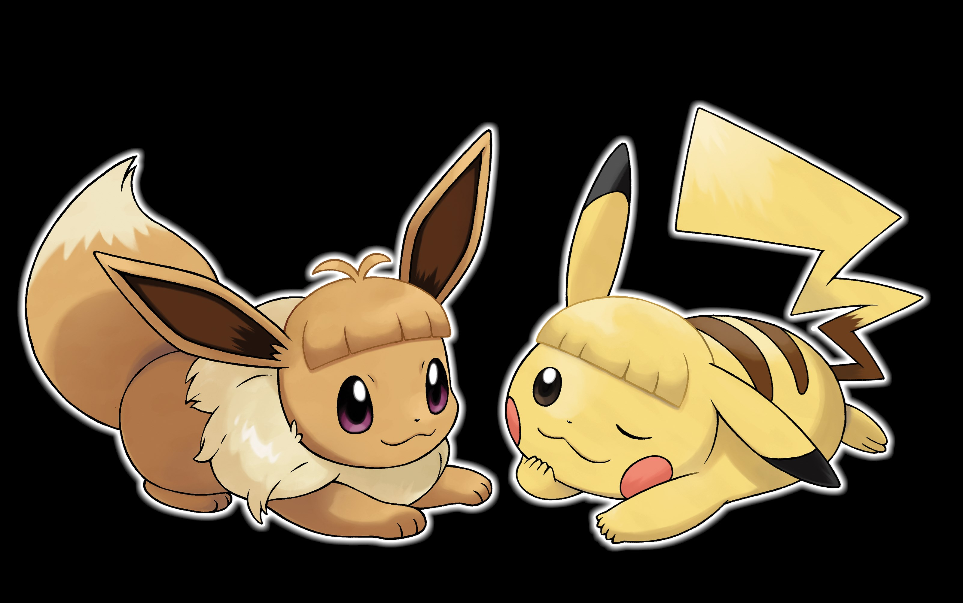 Hair Style Eevee: New Information Revealed For Pokemon: Let's Go, Pikachu