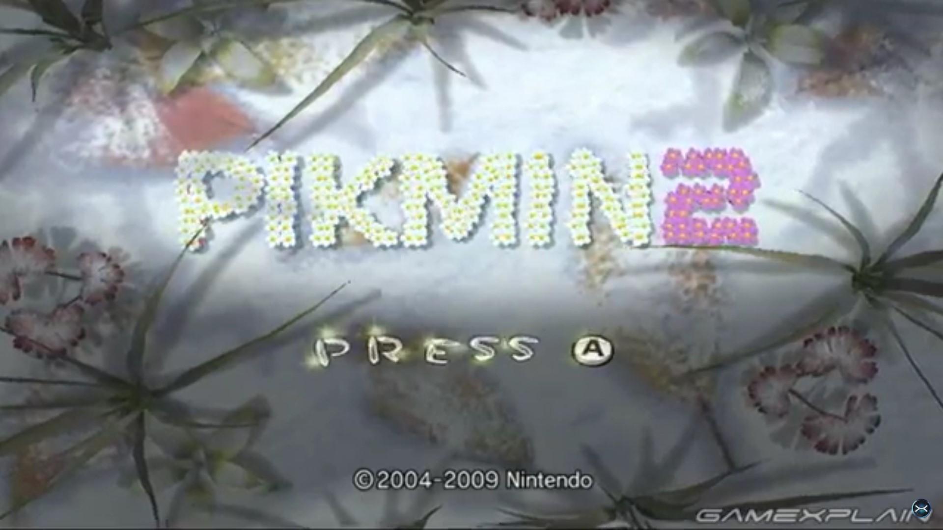 New Pikmin 2 Wii U Footage Wii Download Nintendo Everything