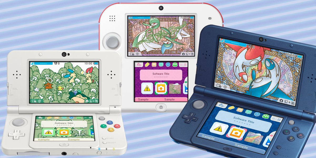 Nintendo 3ds Pokemon Games : Europe three pokemon ds themes coming on friday nintendo