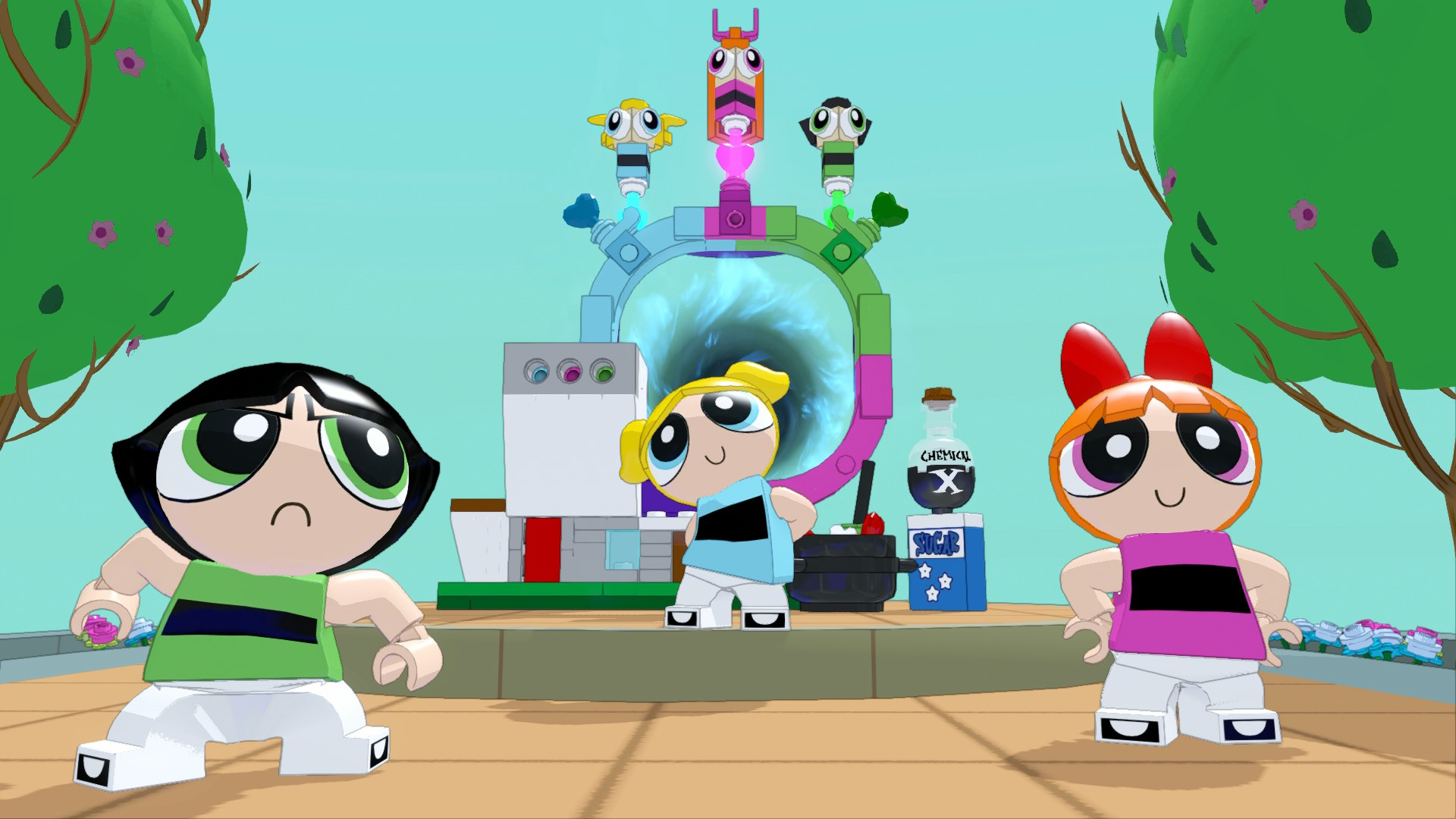 Lego Dimensions Adds Teen Titans Go, The Powerpuff Girls, Beetlejuice Packs In -3508