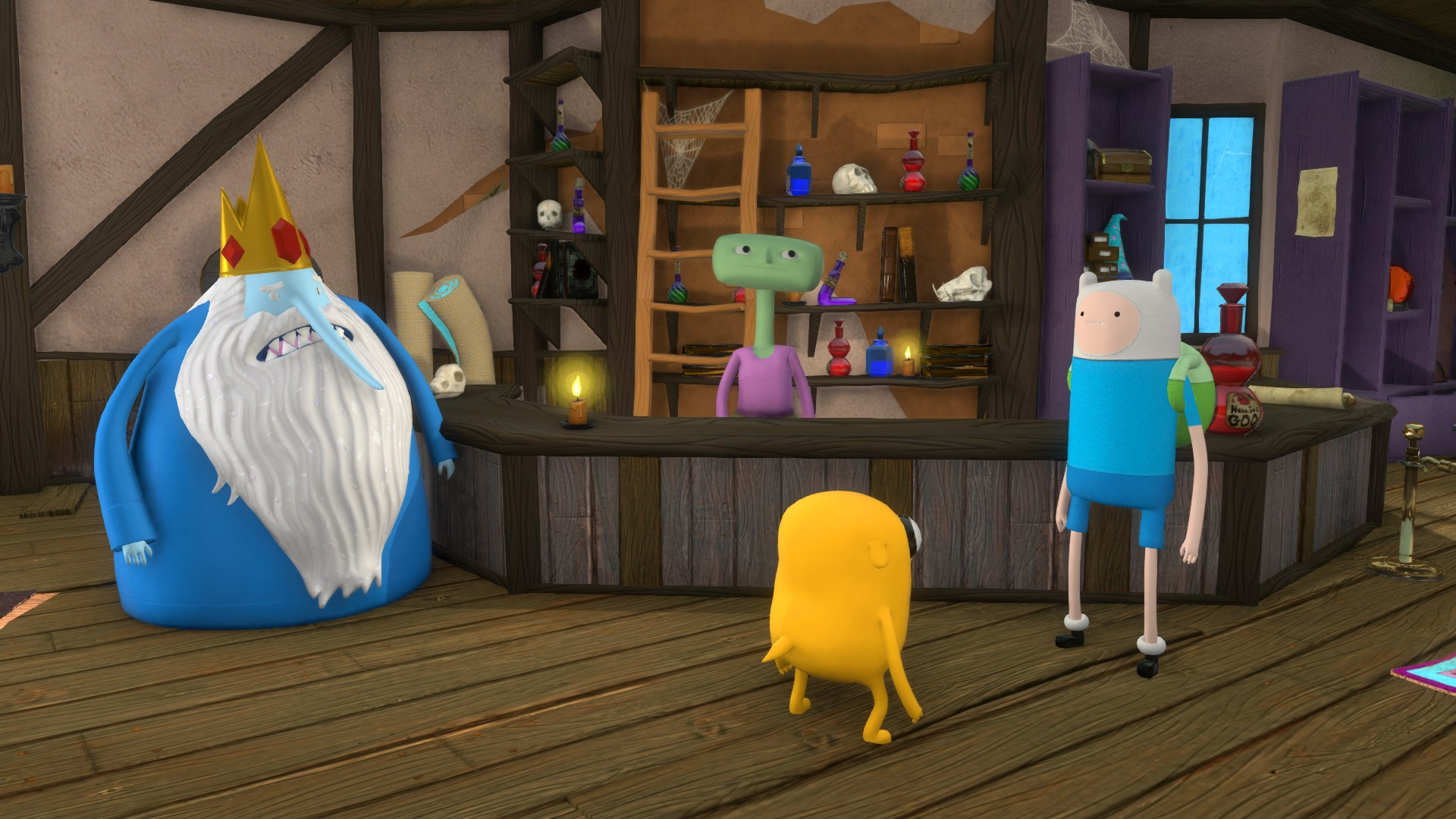 Adventure Time Finn And Jake Investigations Screenshots
