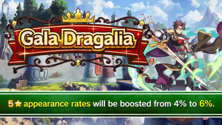 Dragalia Lost - Gala Dragalia live now, footage of new heroes - Nintendo Everything