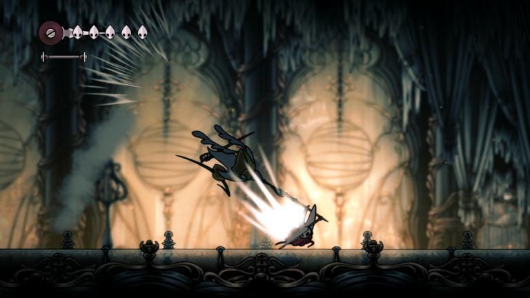 Hollow Knight: Silksong will be free to all Kickstarter backers; screenshots; original sold 2.8 million copies