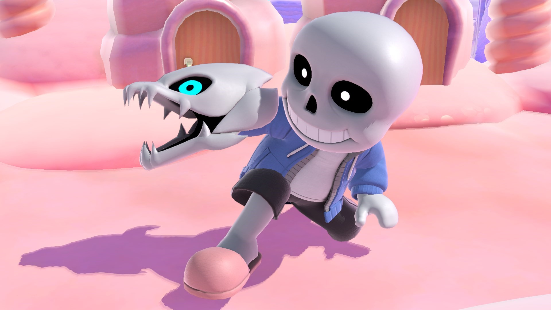 Super Smash Bros. Ultimate screenshots – Banjo-Kazooie, Home-Run Contest, Mii Fighter costumes