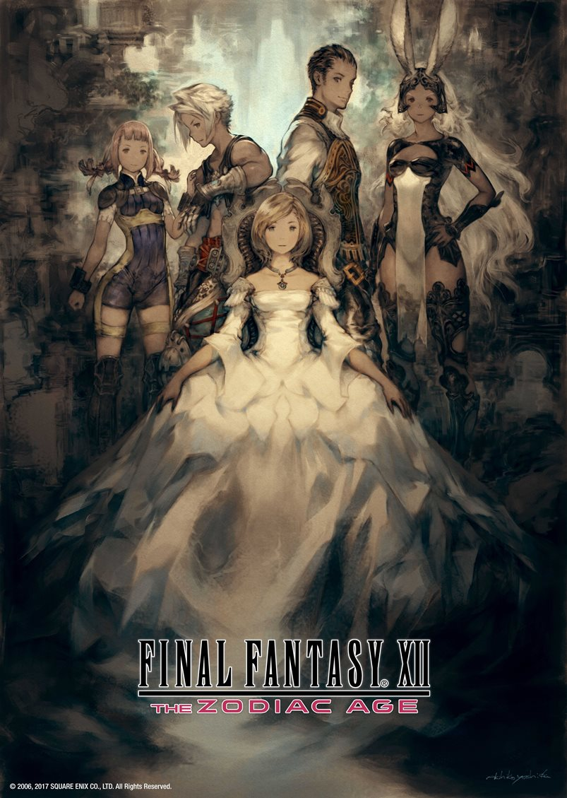 Final Fantasy X / X-2 HD Remaster, Final Fantasy XII: The Zodiac Age launch on Switch in April
