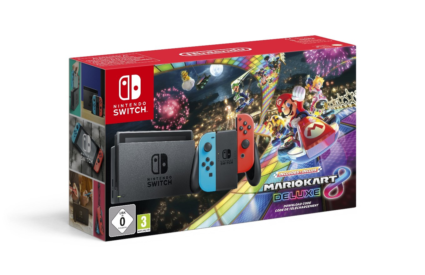 Mario Kart 8 Deluxe Switch Bundle Out Today In Europe