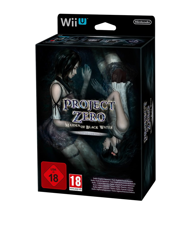 European Fatal Frame: Maiden of Black Water Limited Edition unboxing ...