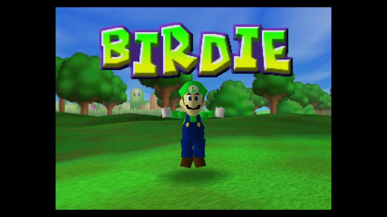 Mario Golf (N64) Wii U Virtual Console footage - Nintendo