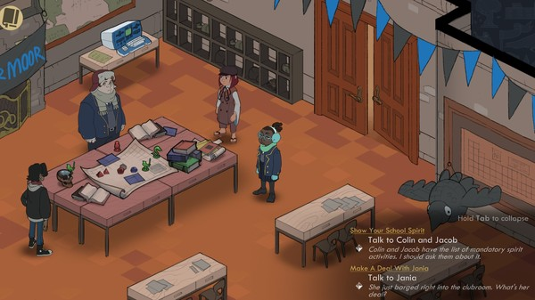 Wintermoor Tactics Club announced for Switch - Nintendo Everything