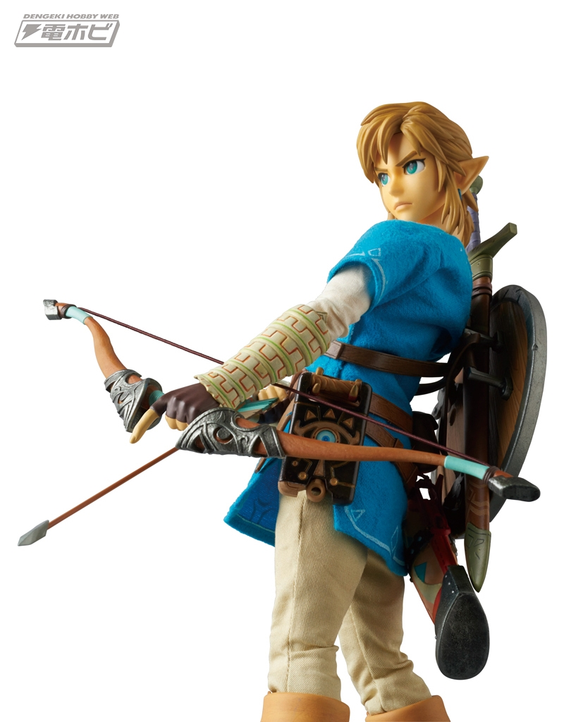 zelda-botw-figure-4  sc 1 st  Nintendo Everything & Our first real look at Medicomu0027s new Link figure from Zelda: Breath ...