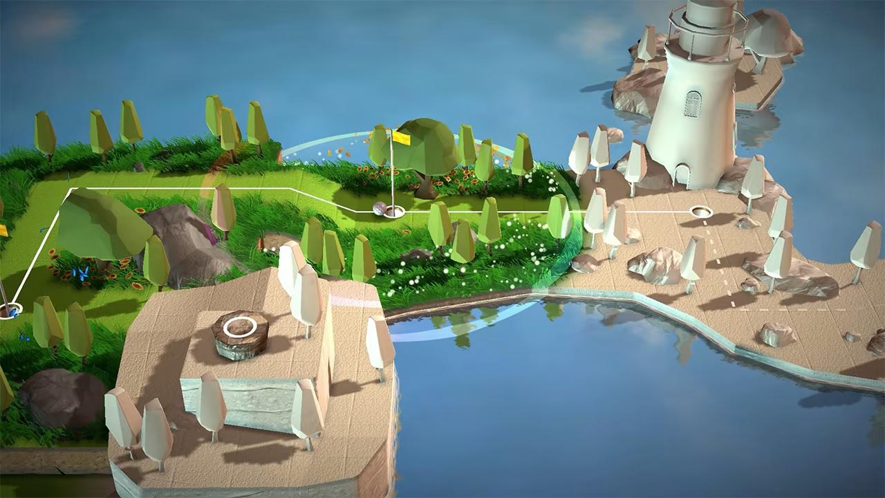 A Little Golf Journey gameplay