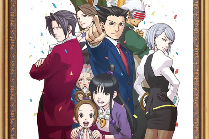Ace Attorney Artists Create Special Images For The Series 15th Anniversary Nintendo Everything