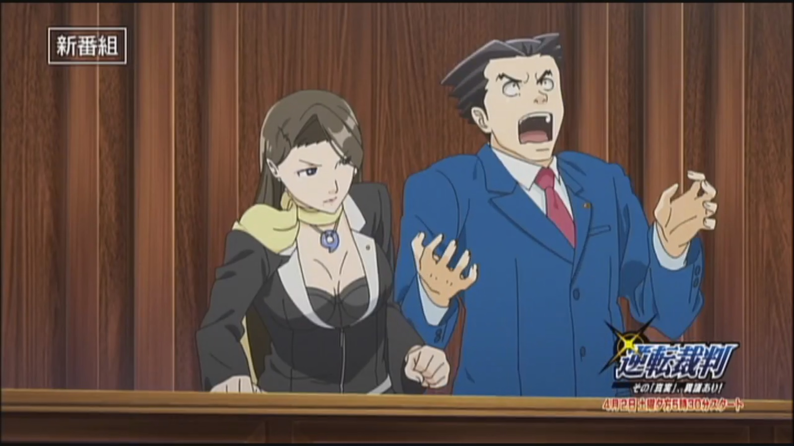 In an interview with 4gamer some of the cast and crew of the upcoming phoenix wright anime gave more details on the upcoming show