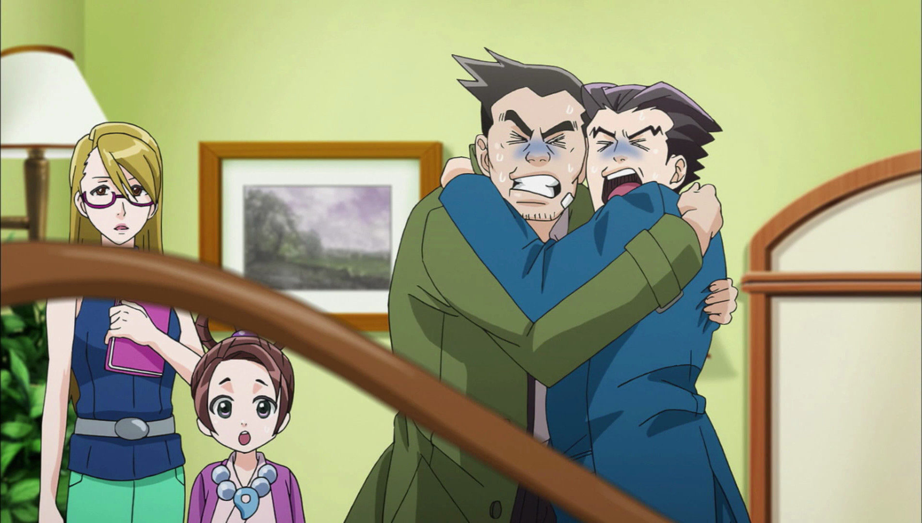 The ace attorney anime ran through its full 24 episode season last year for those with steam accounts its now available for purchase