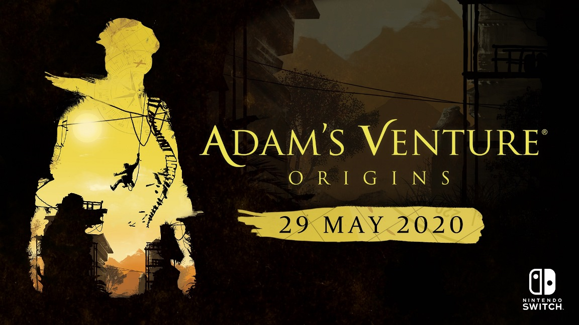 "Adam's Venture: Origins - ""Exploration & Puzzles"" video - Nintendo Everything"