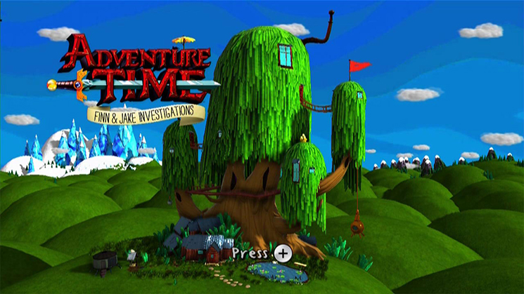 Adventure Time Finn And Jake Investigations Wii U And 3ds