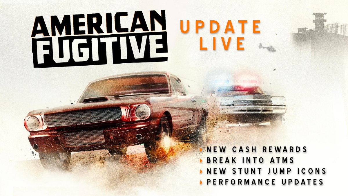 American Fugitive, Miles & Kilo updates out now - Nintendo Everything