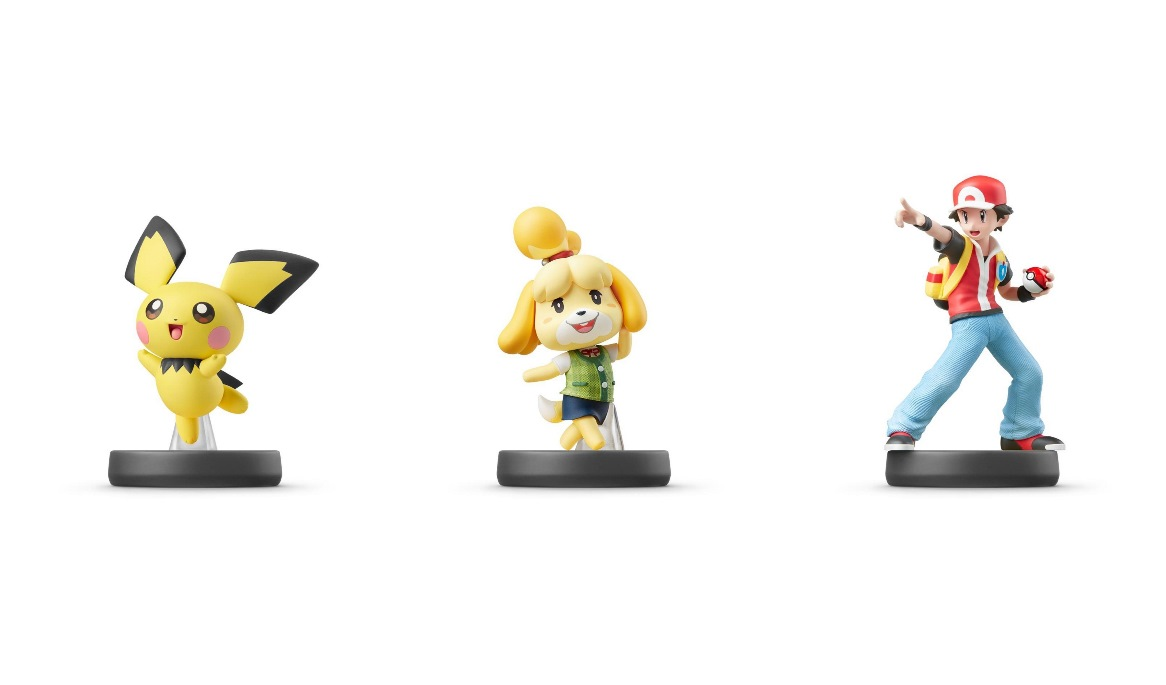 Pichu, Isabelle, and Pokemon Trainer amiibo arrive on July 26