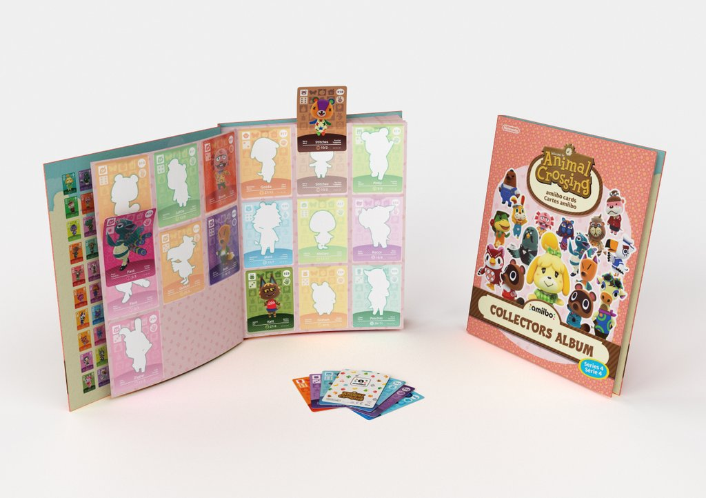 A look at the animal crossing series 4 amiibo card album nintendo a look at the animal crossing series 4 amiibo card album m4hsunfo
