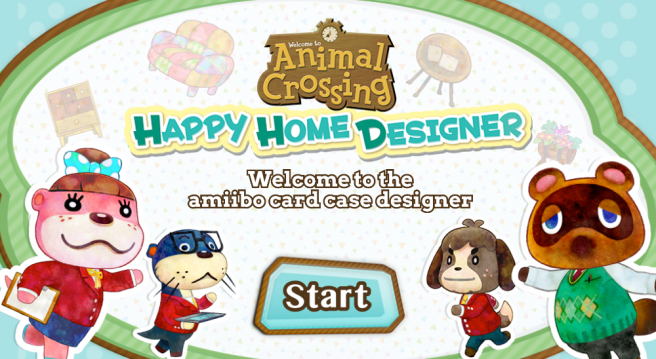 How to build your own animal crossing amiibo card case - Animal crossing happy home designer 3ds case ...