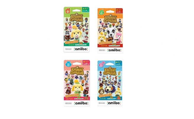 Animal Crossing amiibo Cards Series 1-4
