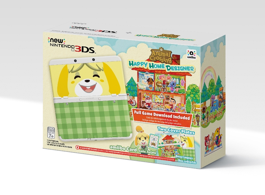 Standard New 3DS coming to North America in Animal Crossing bundle, Hyrule Edition New 3DS XL