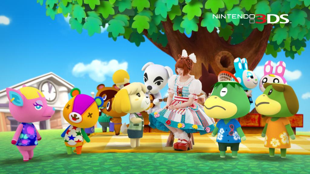 Kyary pamyu pamyu returns for new animal crossing new leaf commercial nintendo everything - Coupes animal crossing new leaf ...