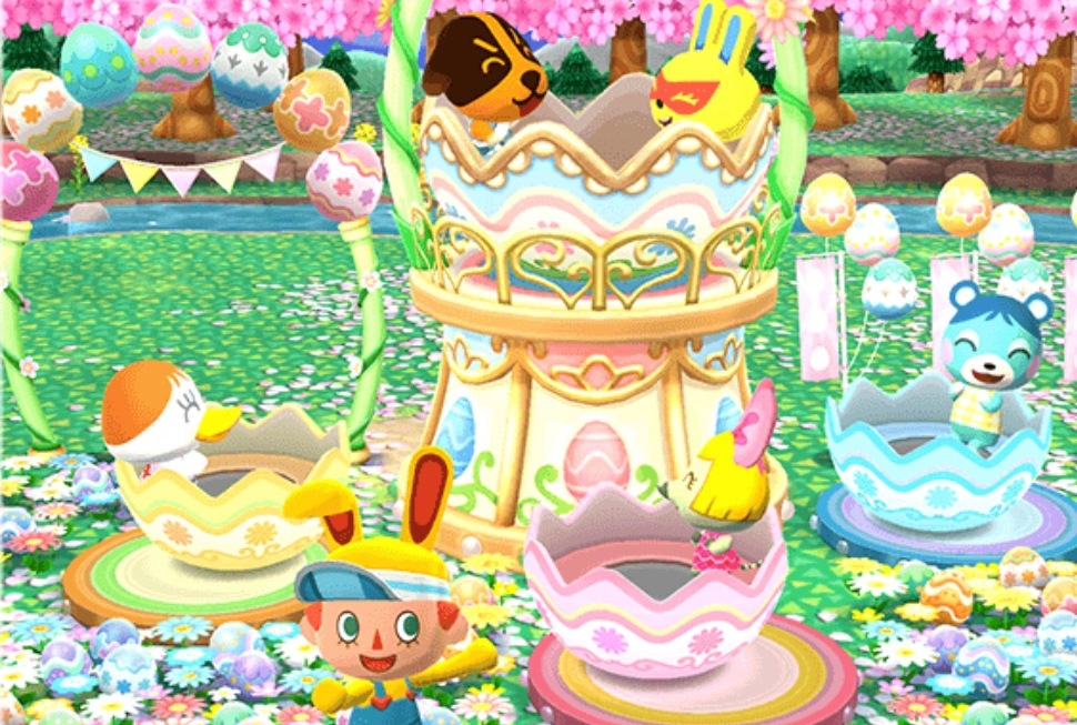 Terrific Animal Crossing Pocket Camp Hosting Fishing Tourney Fun Bunny Personalised Birthday Cards Veneteletsinfo