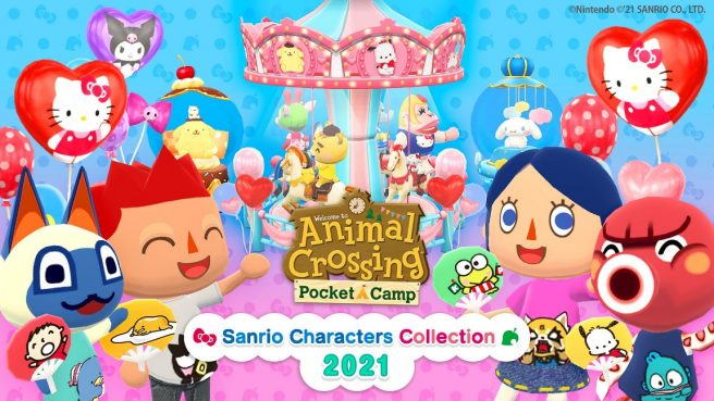 Animal Crossing: Pocket Camp - Sanrio Characters Collection 2021