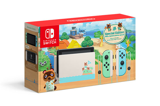 Animal Crossing-themed Switch system packaging, pre-orders ...