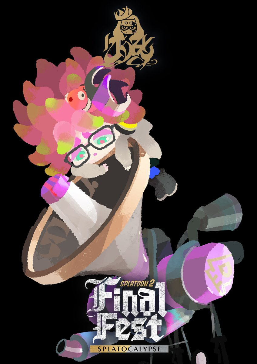 Splatoon 2 - Final Fest art featuring Annie - Nintendo Everything