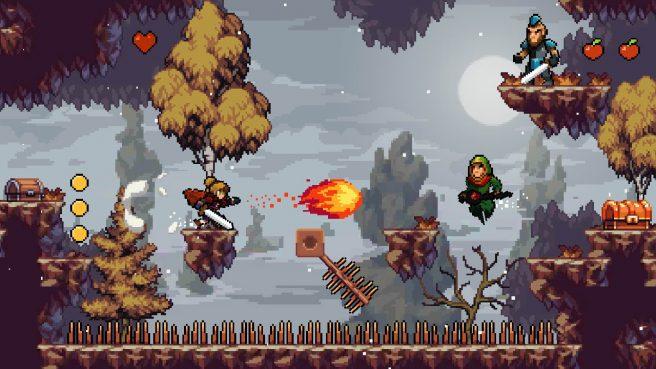 Apple Knight gameplay