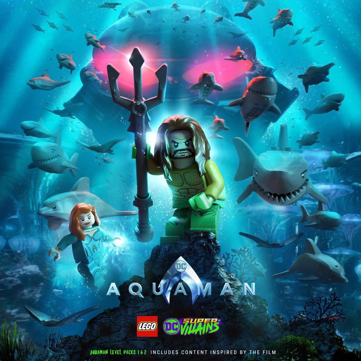 Lego Dc Super Villains Aquaman Movie Dlc Revealed Nintendo Everything