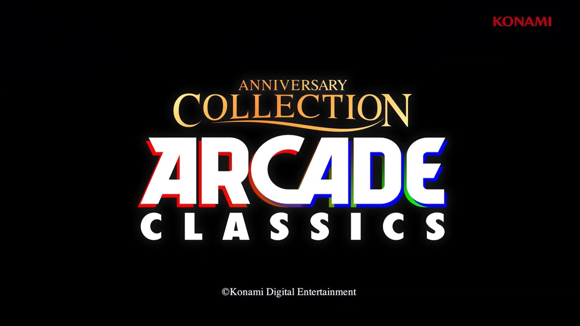 52 minutes of Arcade Classics Anniversary Collection gameplay footage