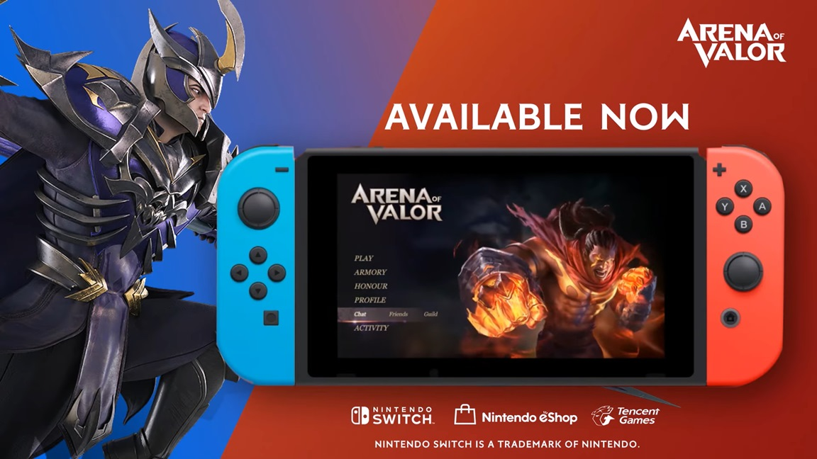 Arena of Valor update getting an update shortly - Nintendo Everything