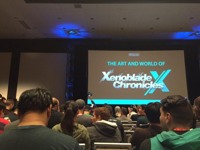 pax prime 2015 the art and world of xenoblade chronicles x full panel nintendo everything. Black Bedroom Furniture Sets. Home Design Ideas