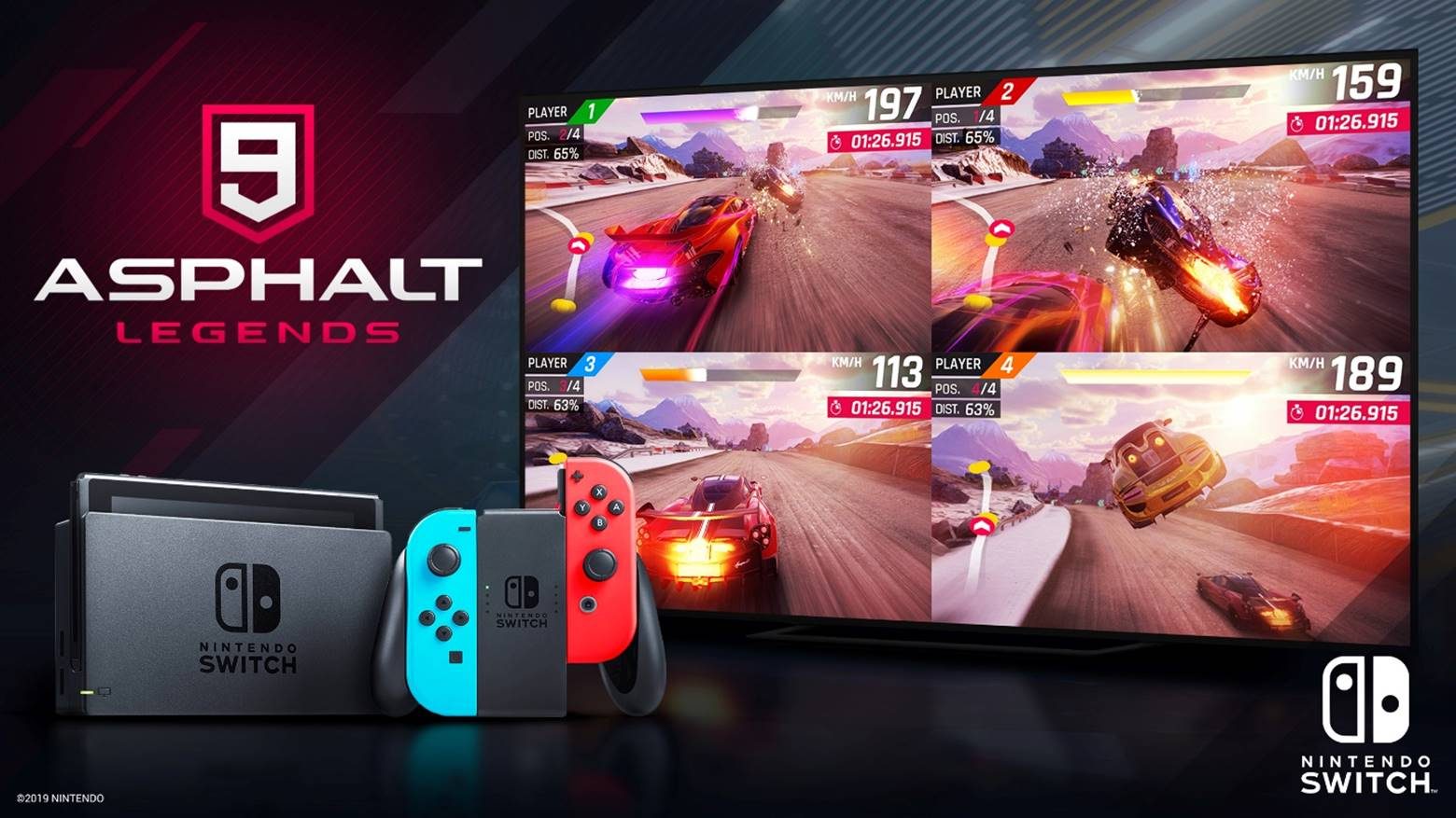 Asphalt 9: Legends hits one million installs on Switch in first week, more content coming