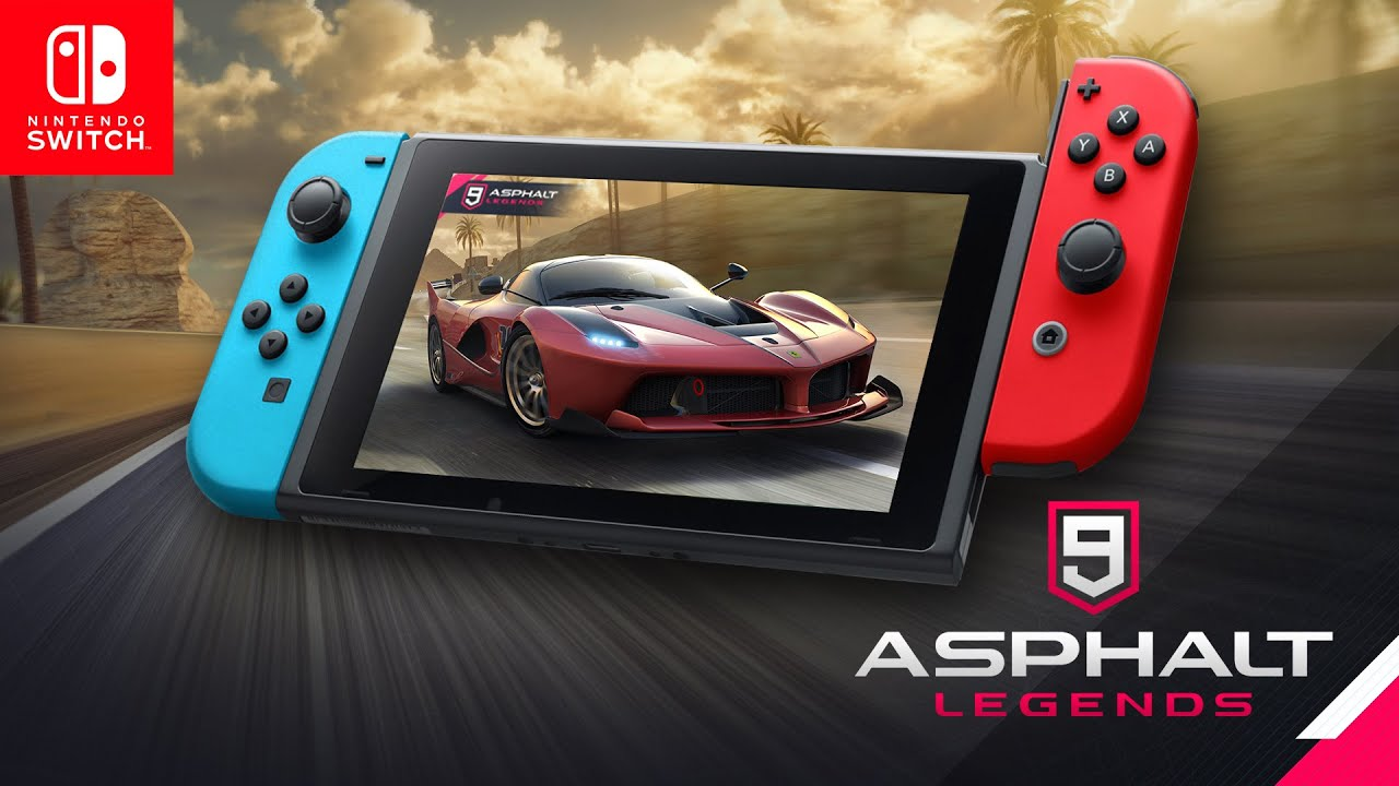 Asphalt 9: Legends launches for Switch on October 9
