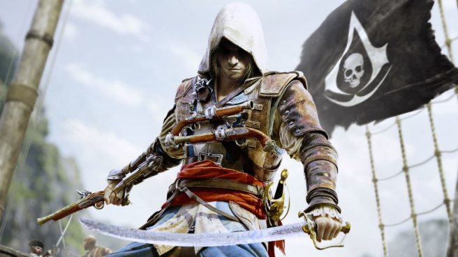 Assassin's Creed IV: Black Flag Switch footage