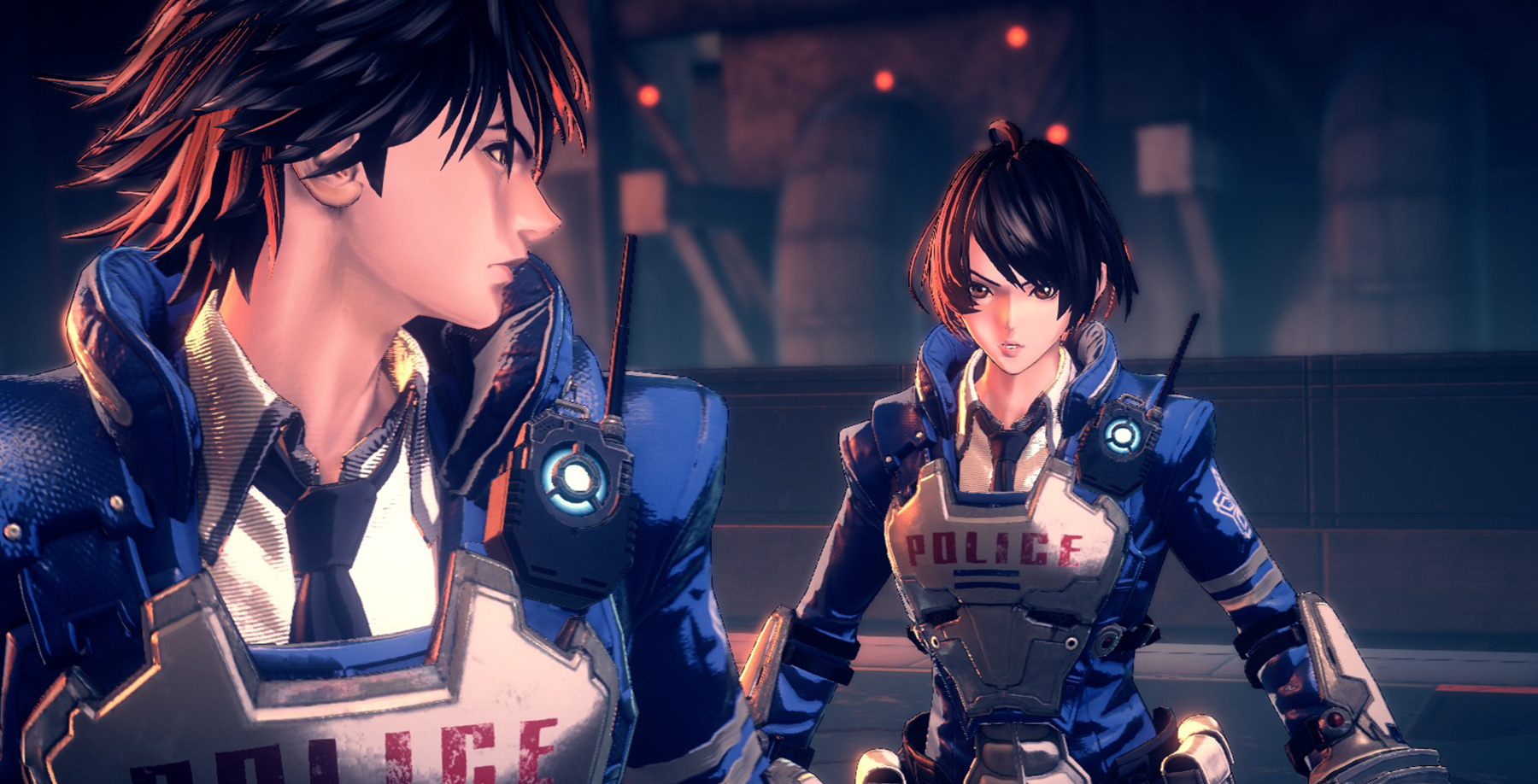 Astral Chain devs on original plan for Legions, protagonists weren't always twins, more