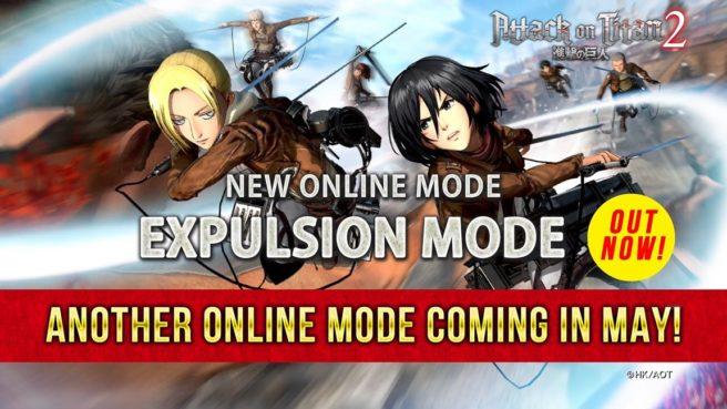 Attack on Titan 2 - Expulsion Mode